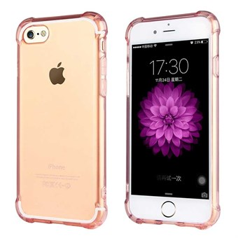 Image of   Protection Silikone Cover til iPhone 7 / iPhone 8 - Rose Guld