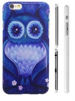 TipTop cover mobil (Blue owl)