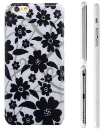 Image of   TipTop cover mobil (Black flowers)