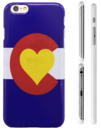 Image of   TipTop cover mobil (Blue heart)
