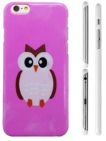 TipTop cover mobil (Pink owl)