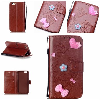 Image of   Creative Soul Etui til iPhone 7 / iPhone 8 - Brun
