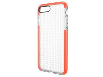Image of   Simple Dot Cover til iPhone 7 Plus / iPhone 8 Plus - Orange