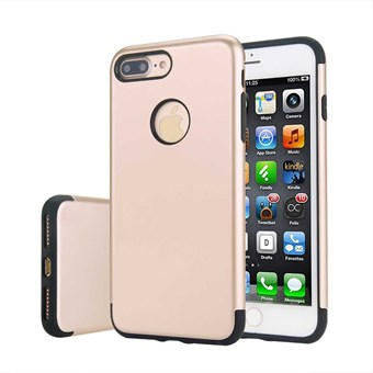 Image of   Hard Box Cover til iPhone 7 Plus / iPhone 8 Plus - Golden