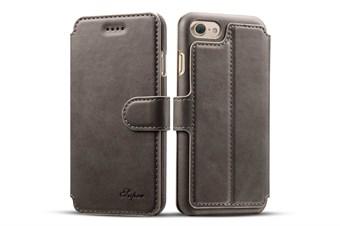 Image of   Case Etui til iPhone 7 Plus / iPhone 8 Plus - Grå