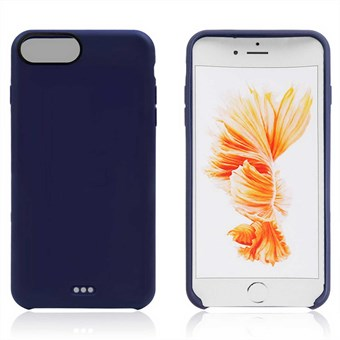 Image of   Mat TPU Cover til iPhone 7 Plus / iPhone 8 Plus - Blå