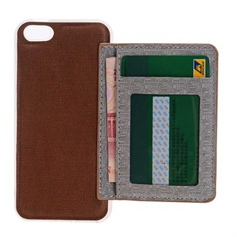 Image of   Everyday Cover til iPhone 7 / iPhone 8 - Brun