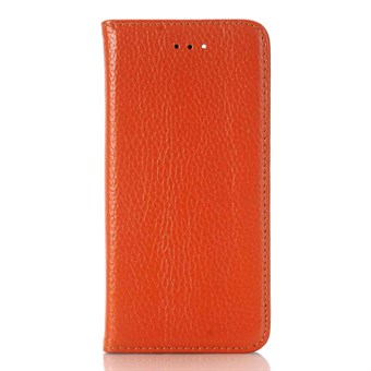 Image of   Klap Etui til iPhone 7 / iPhone 8 - Brunorange
