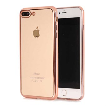 Image of   Shiny Sides Cover til iPhone 7 Plus / iPhone 8 Plus - Rose Gold