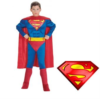 Image of   Klassisk Superman Kostume