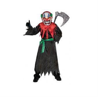 Image of   Skræmmende klov kostume m. lysmaske