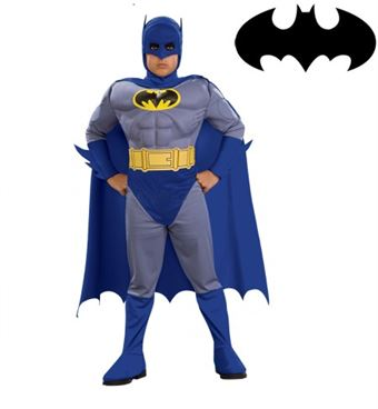 Image of   Muskel Batman Kostume