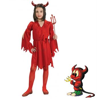 Image of   Devil Girl Kostume