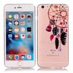 Simpel transperents iPhone 6 / 6S silicone cover Dreamcatcher