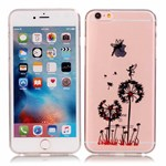 Simpel transperents iPhone 6 / 6S silicone cover Dandelion