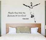 Wall stickers - Hate/Good Ronaldo