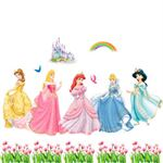 Wall Stickers - Prinsesser