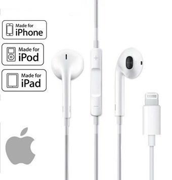 31d3f9bb46f Apple Lightning-stik EarPods MMTN2ZM/A