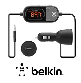 Belkin tunecast auto universal fm transmitter with clearscan