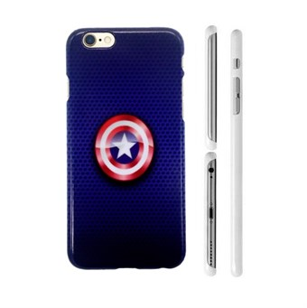 Image of   TipTop cover mobil (Captain America Shield)