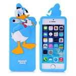 3D Silikone Donald Duck Cover - 5/5S/SE