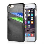 Fashion Leather Cover til iPhone 6 / iPhone 6S  - Sort