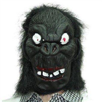 Image of   Crazy Gorilla Mask