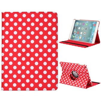 Image of   Polka Dot Etui til iPad Air 1 - Rød