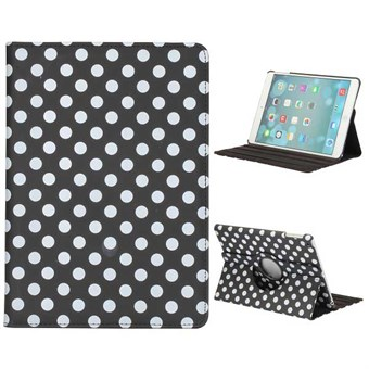 Image of   Polka Dot Etui til iPad Air 1 - Sort