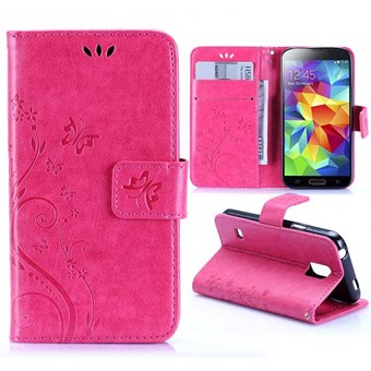 Image of   Vine flower Galaxy S5 Mini (pink)