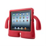 iBuy Shockproof Cover til iPad Mini 1/2/3 - Rød
