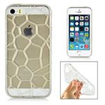 Honey cover til Iphone 5/5S/SE - Hvid