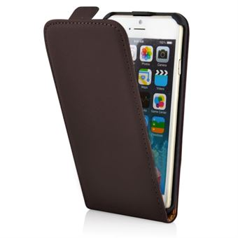 Image of   Flap Etui - iPhone 6 / 6S (brun)