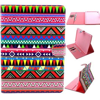 Image of   iPad Air 2 designer etui Tribal Triangle Pattern