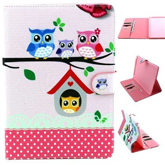 Image of   iPad Air 2 designer etui The Owl Family