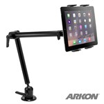 American Arkon LTD - Heavy-Duty Drill Base Table Cart or Wall Mount for Tablets