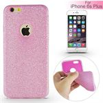 Glittery Cover til iPhone 6 Plus / 6S Plus - Pink