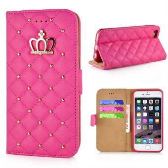 Image of   Crown Etui til iPhone 6 / 6S - Pink