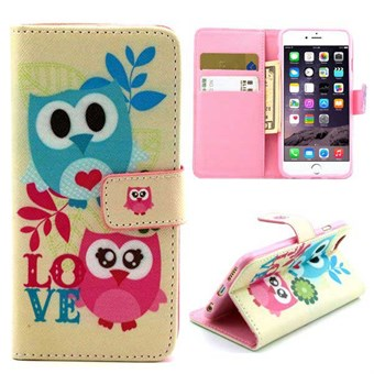 Image of   Birdy Bird Etui til iPhone 6 / 6S - Lovely Owls