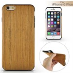Wood Wood cover til iPhone 6 Plus / 6S Plus - Yellow Brown