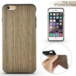 Wood Wood cover til iPhone 6 Plus / 6S Plus - Greyish