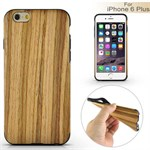 Wood Wood cover til iPhone 6 Plus / 6S Plus - Brownish