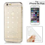 Cube bling silikone cover iPhone 6 Plus / 6S Plus (hvid)