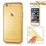 Shock proof air silikone cover iPhone 6 Plus / 6S Plus (guld)