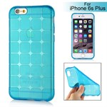 Cube bling silikone cover iPhone 6 Plus / 6S Plus (blå)