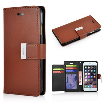 Image of   Empire Wallet Etui til iPhone 6 / 6S - Brun