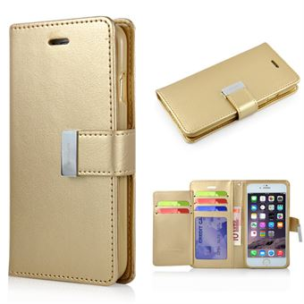 Image of   Empire Wallet Etui til iPhone 6 / 6S - Guld