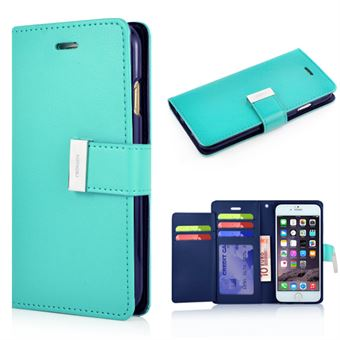 Image of   Empire Wallet Etui til iPhone 6 / 6S - Turkis