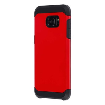 Image of   Hard case silicone/plastik Samsung Galaxy S7 Edge rød