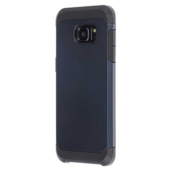 Image of   Hard case silicone/plastik Samsung Galaxy S7 Edge blå